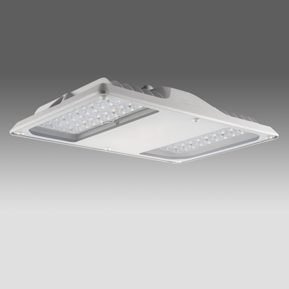 1 Stk Arktur Square PLUS LED 206W 23200lm/840 EVG IP65 55° grau LIG4254011
