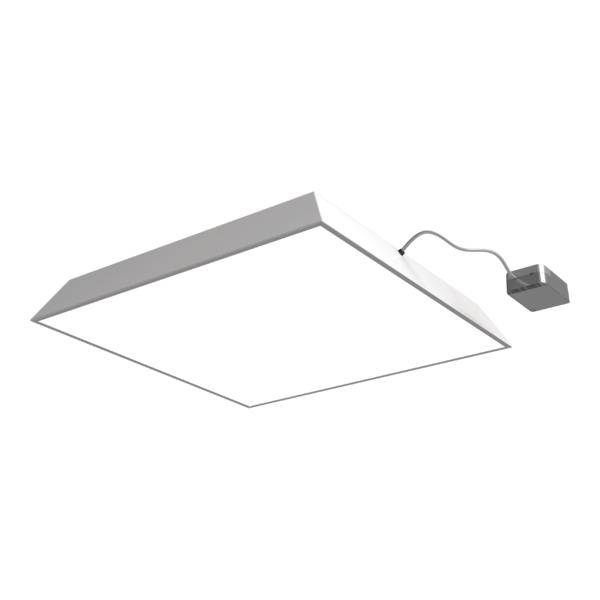 1 Stk SELENA OP LED 40W M600 4350lm/840 PLX EVG IP40 weiß LIG6100150