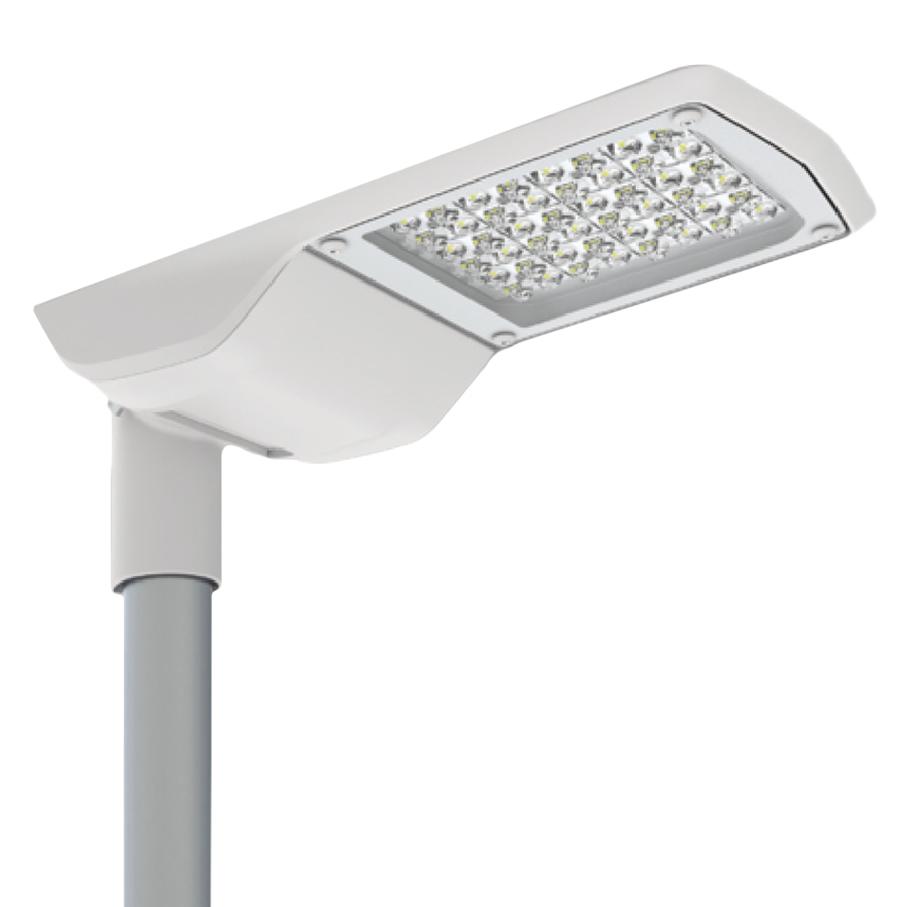 1 Stk RUBINO LED 56W 6200lm/740 EVG IP66 O7 grau class II LIGL042061