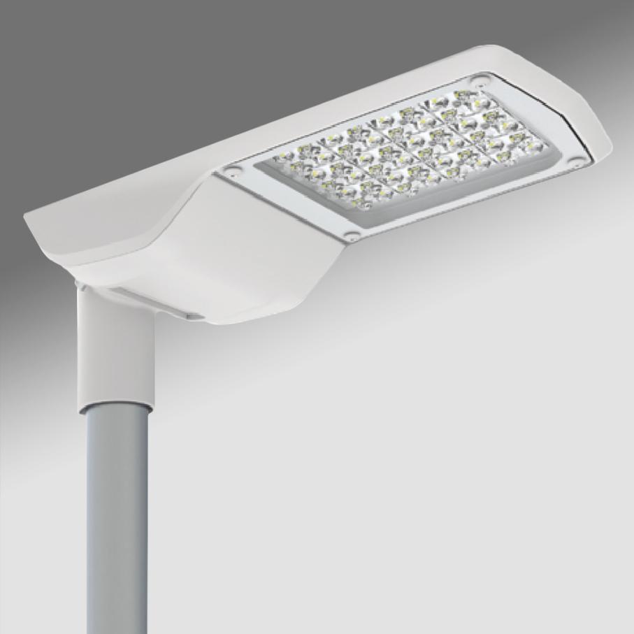 1 Stk RUBINO LED 56W 6200lm/757 EVG IP66 O7 grau class II LIGL052061