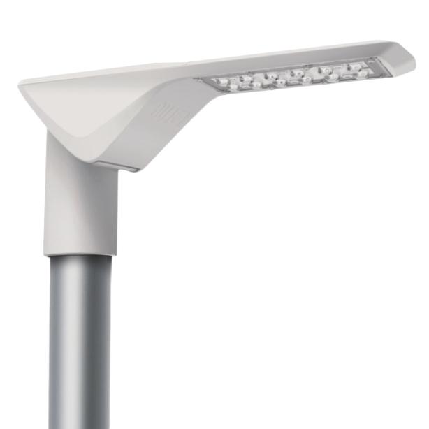 RUBINI LED 20W 2450lm 740, asymmetrisch, IP65, grau
