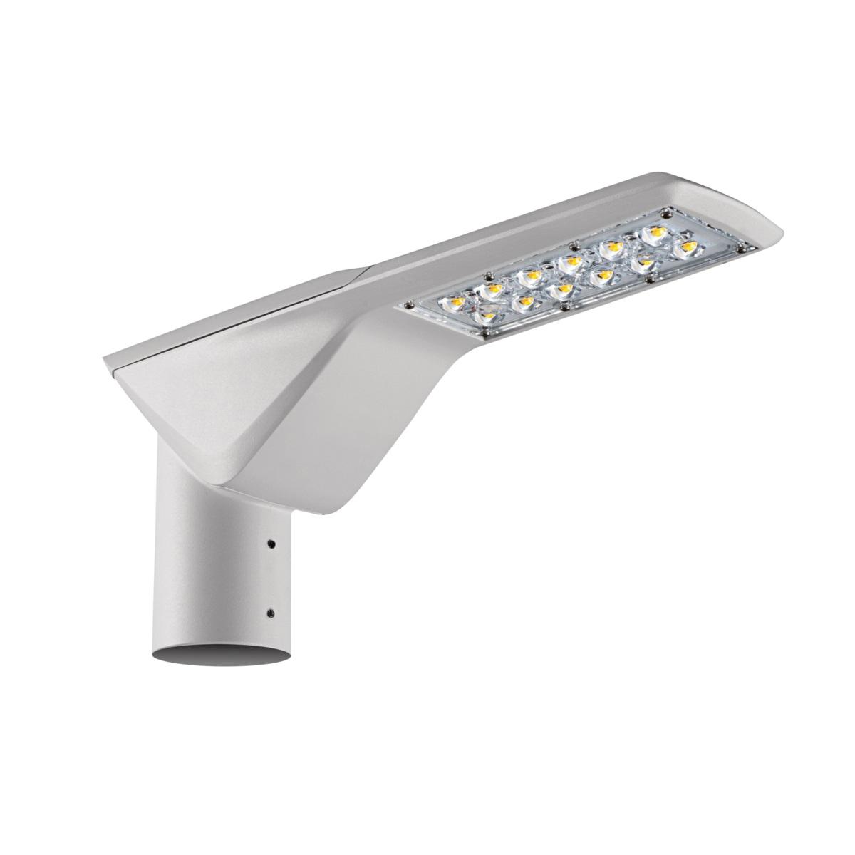 RUBINI LED 20W 2350lm 730, asymmetrisch, IP66, grau