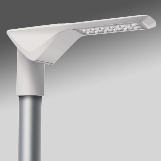 RUBINI LED 27W 3150lm 730, asymmetrisch, IP66, grau