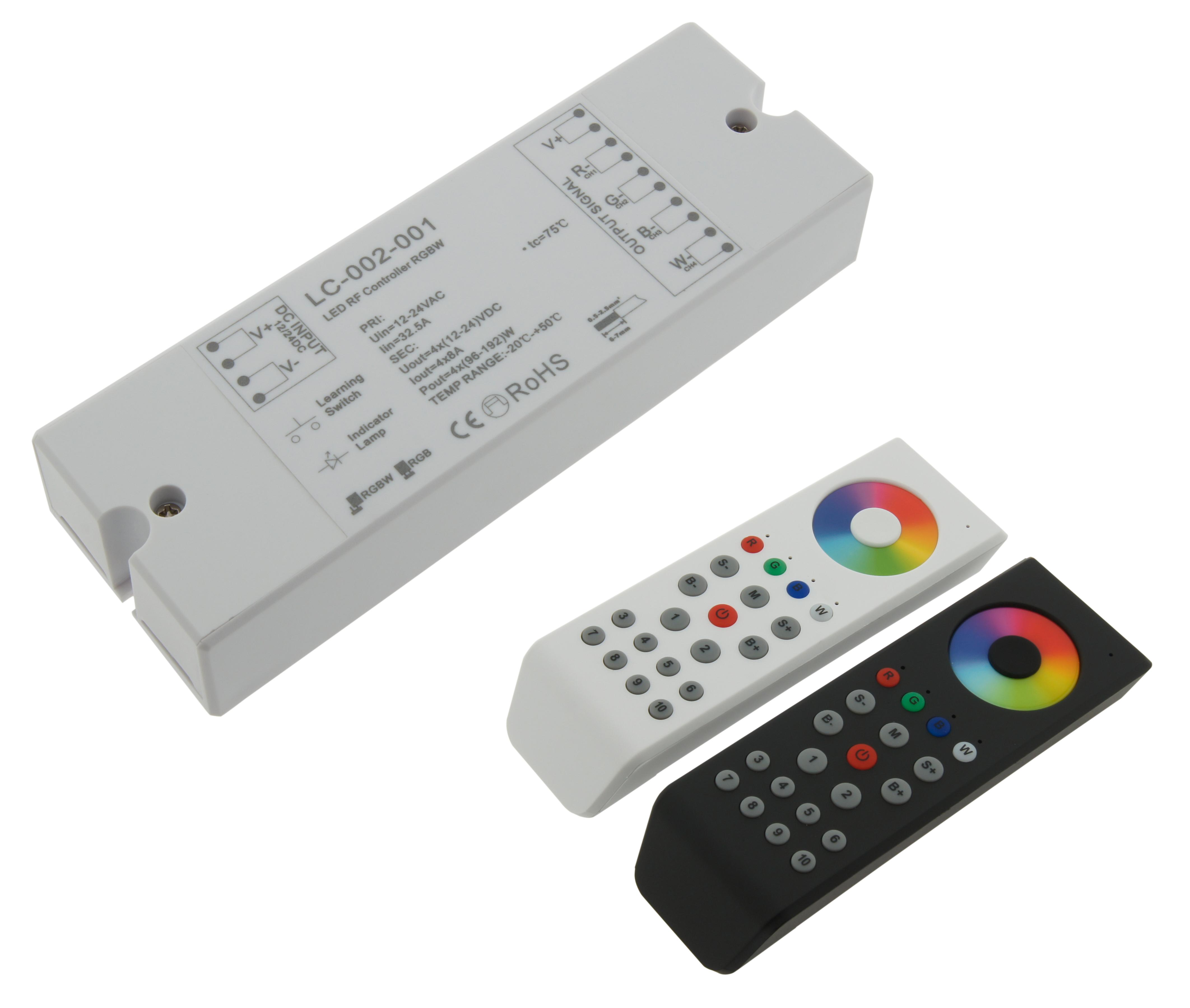 1 Stk Controller RF RGBW LED Empfänger LILC002001