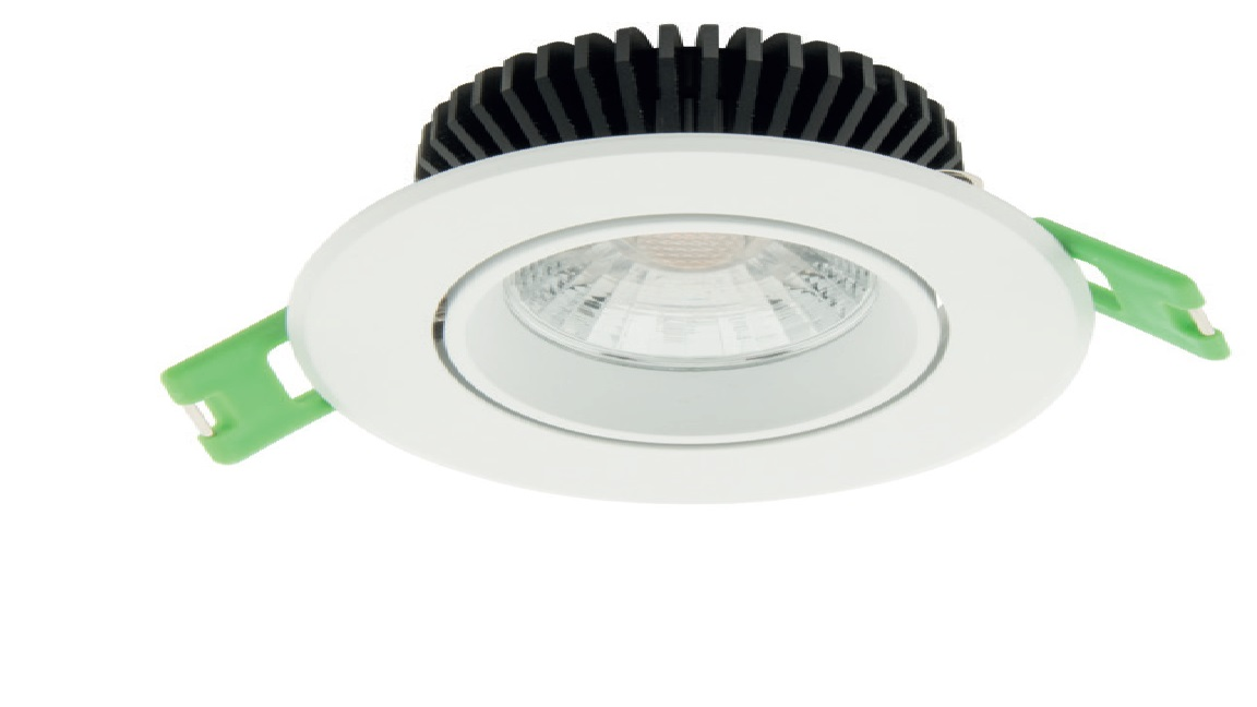 1 Stk LED Downlight 60 HW (Halogen Weiss) - IP43, CRI/RA 90+ LILD060310