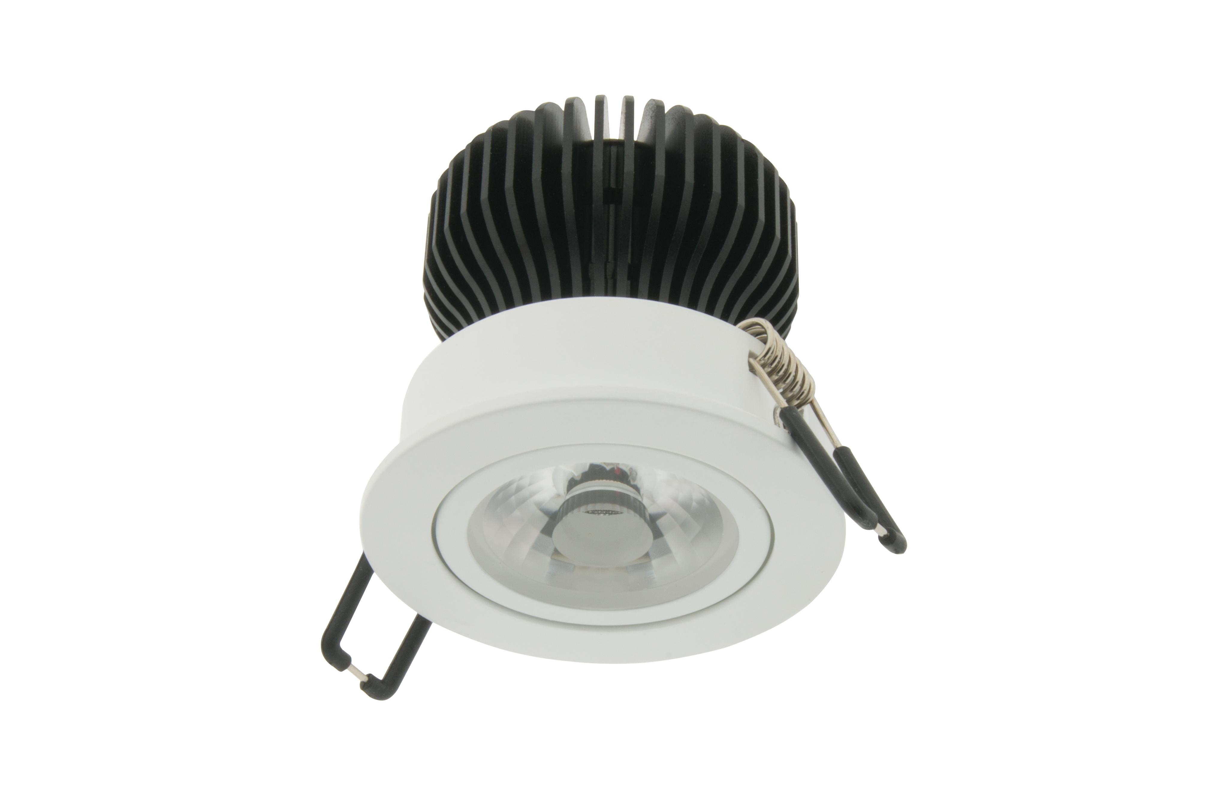 LED Downlight 68 - IP43 | CRI/RA 97 Schwenkb. Ultrawarmweiß
