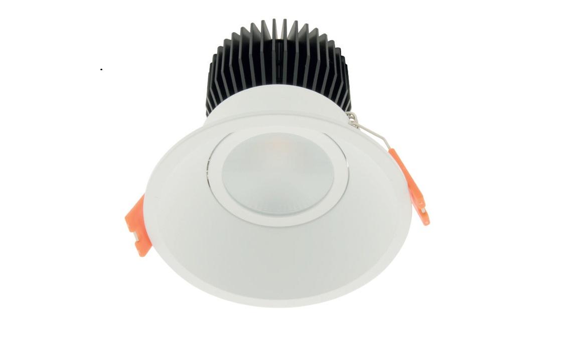 1 Stk LED Downlight 95 Warm Dimming - Schwarz - IP43, CRI/RA 92 LILD958030