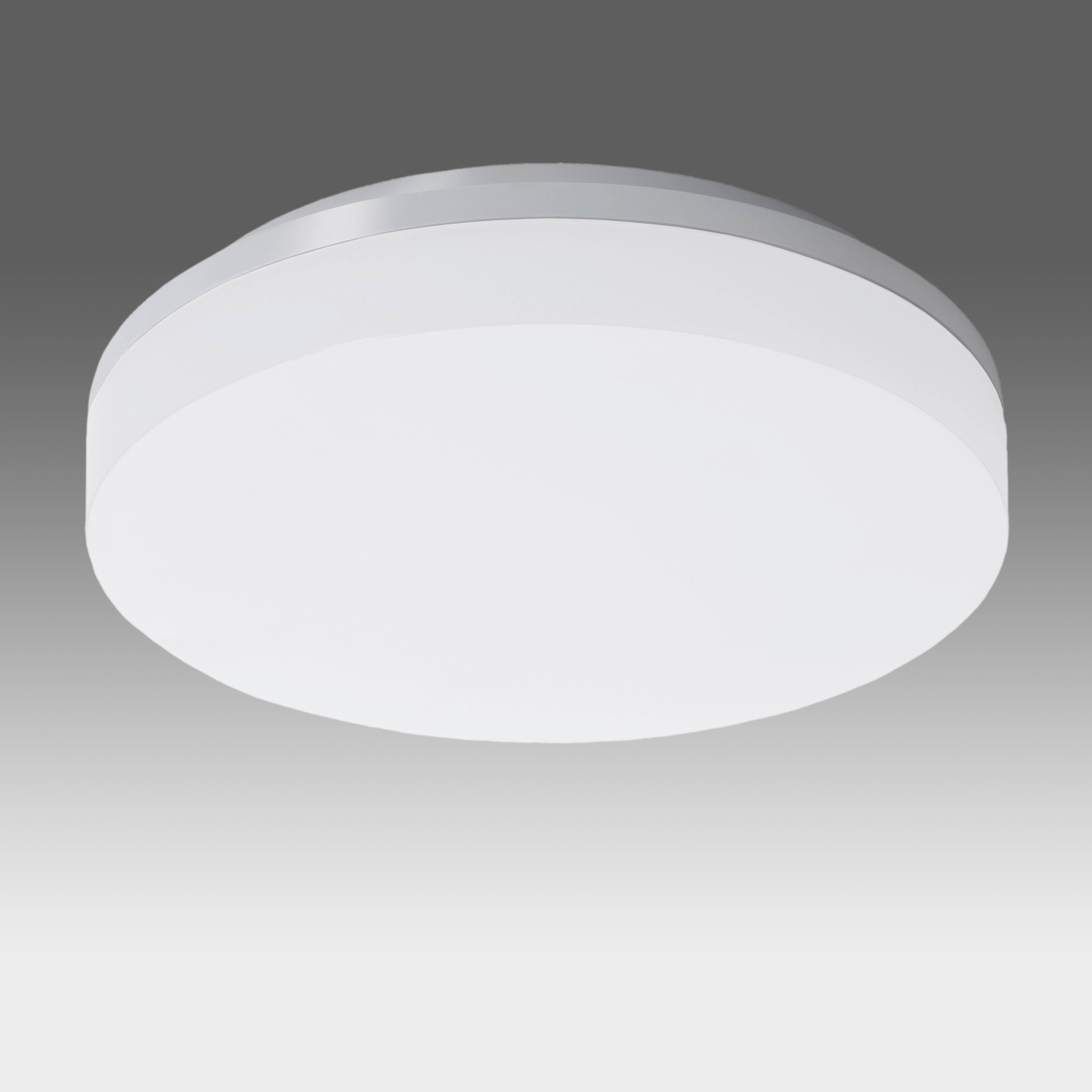 1 Stk Elegance Round II 15W 1500lm 3000K Triac Dim IP44 silber LILE0006--