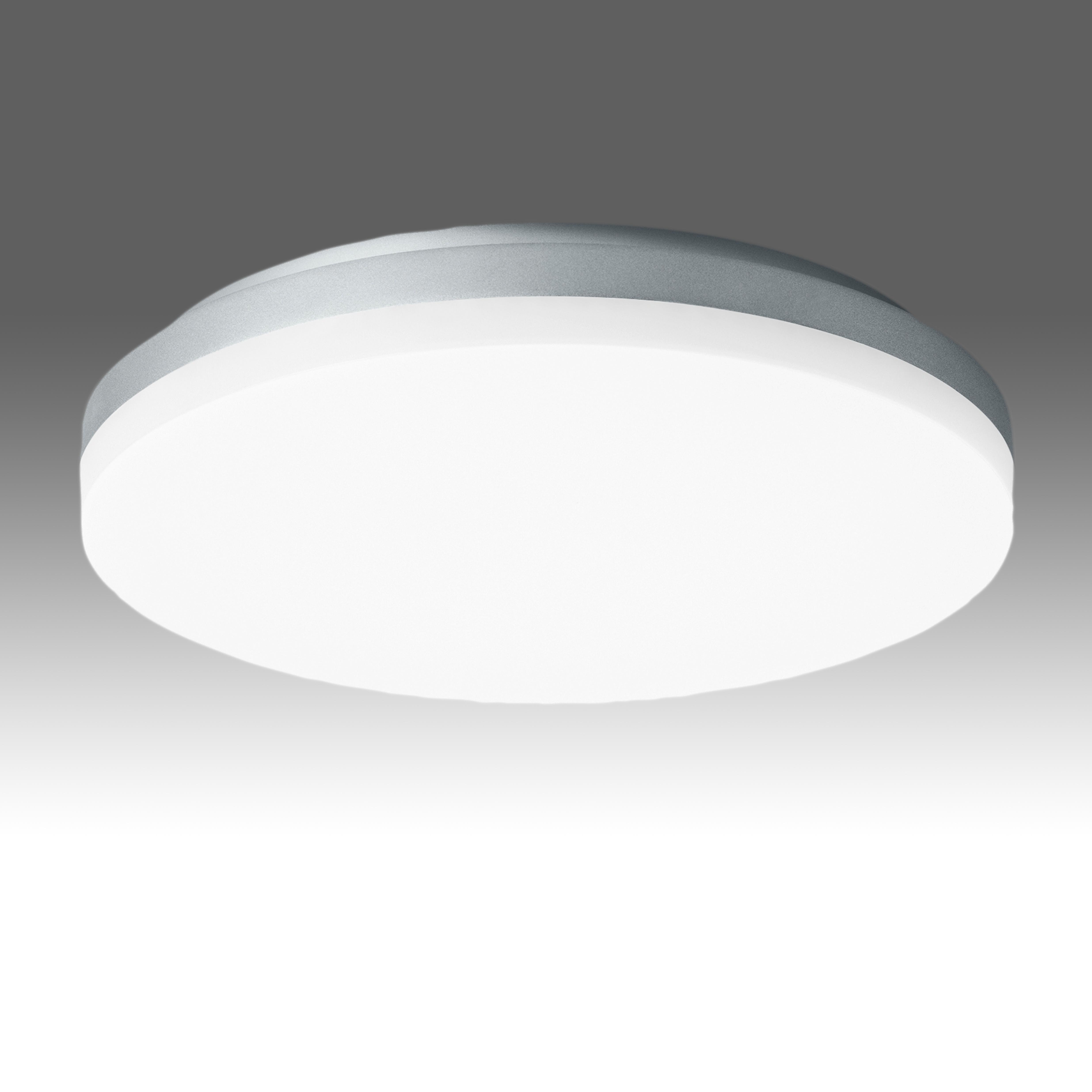 1 Stk Elegance Round III 27W 2800lm 3000K Sensor IP20 silber LILE0018--