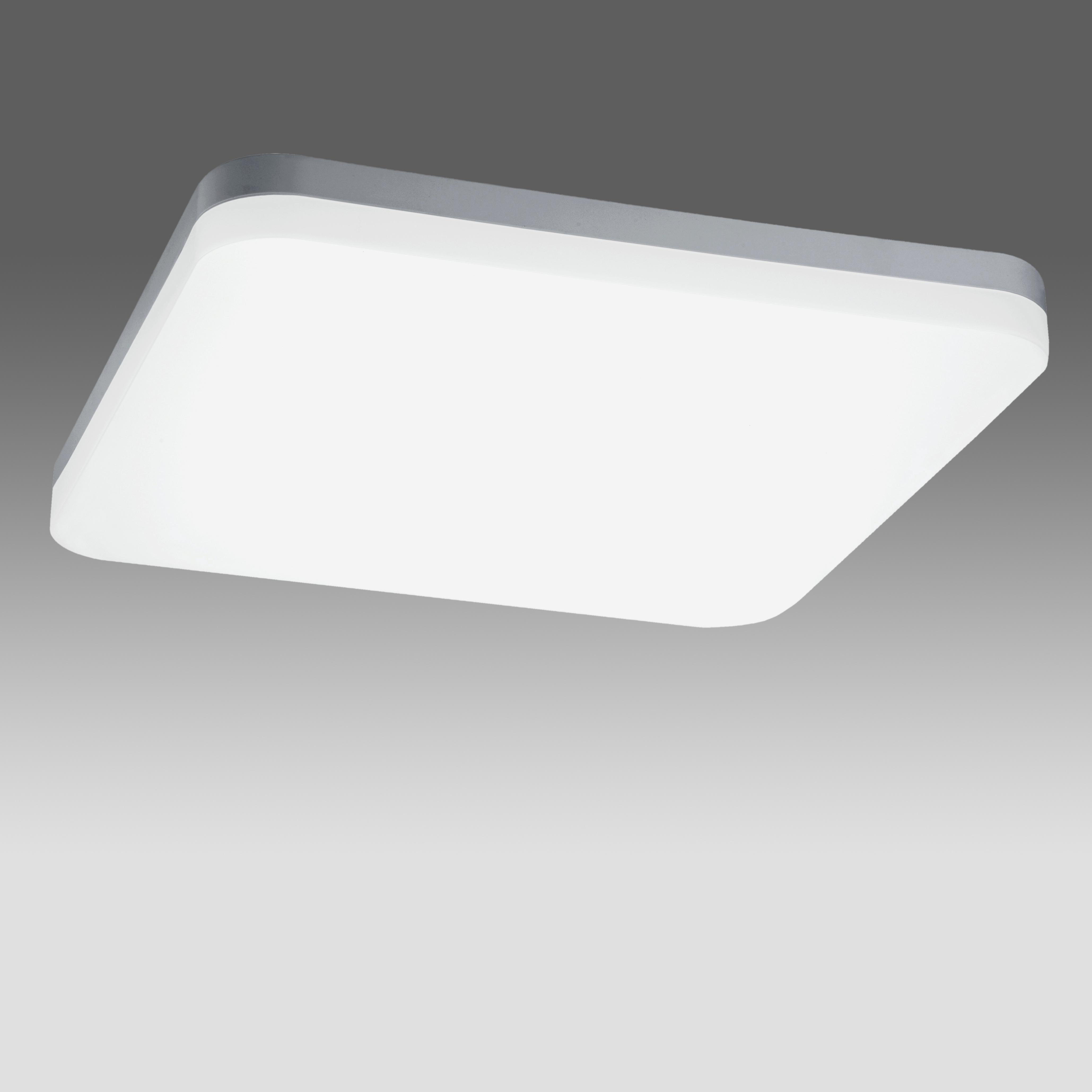 1 Stk Elegance Square IV 37W 3700lm 4000K Triac Dim IP20 silber LILE0048--