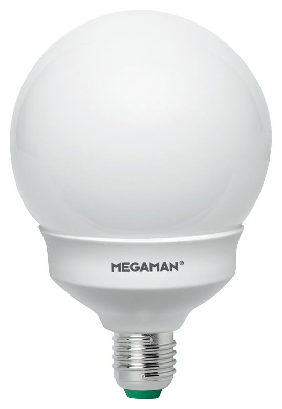 LED MEGAMAN GLOBE, E27, 11W, 2800K, 1055lm