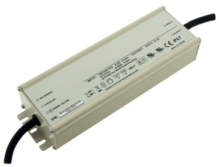 1 Stk LED Netzteil HLG 185W/24V, IP67 LINT224187