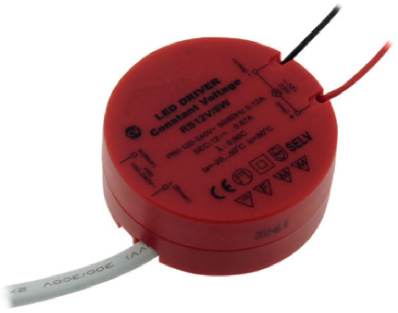 1 Stk LED Netzteil AT 8W/12V, IP20 LINT312008