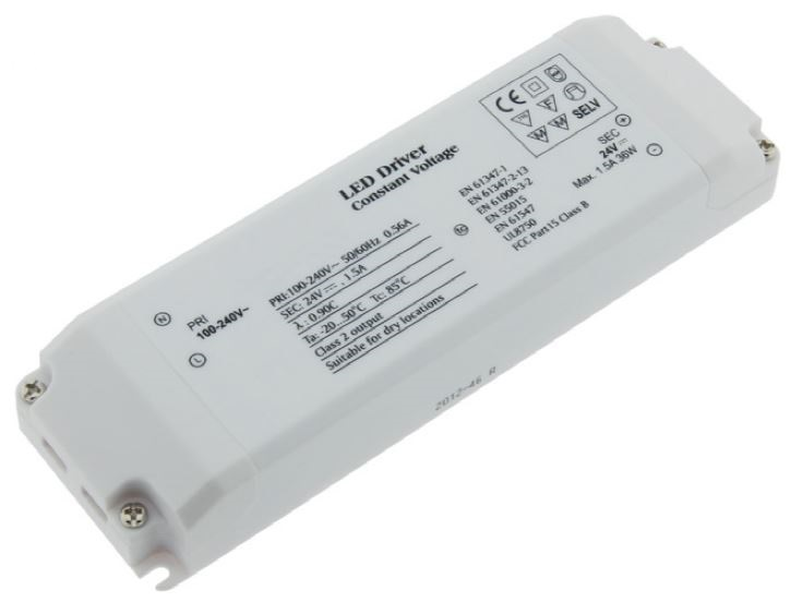 1 Stk LED Netzteil AT 36W/24V, IP20 LINT324036