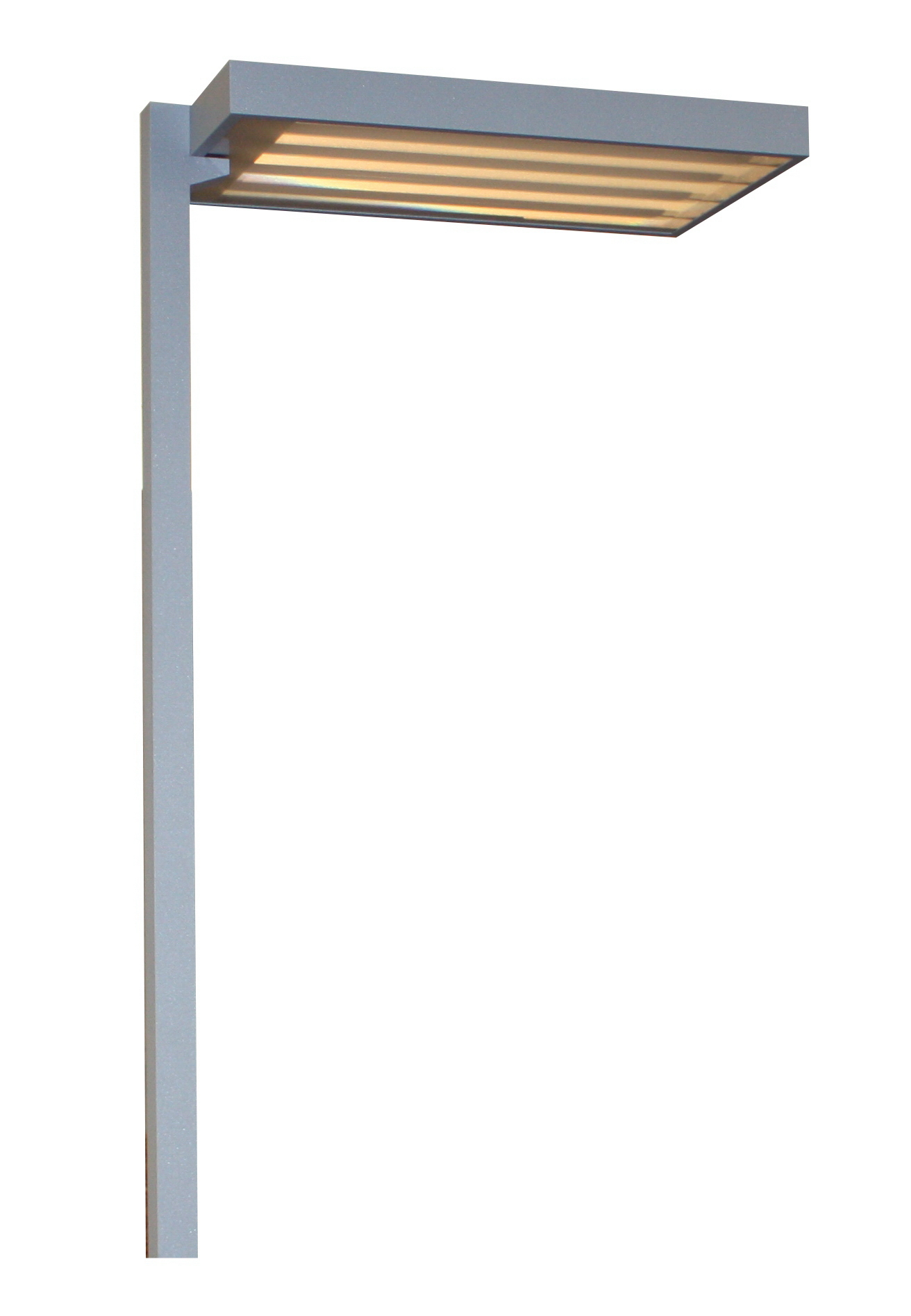 Office Stehleuchte SVO TC-L, 4x55W, Sensor und Tast-Dimmer