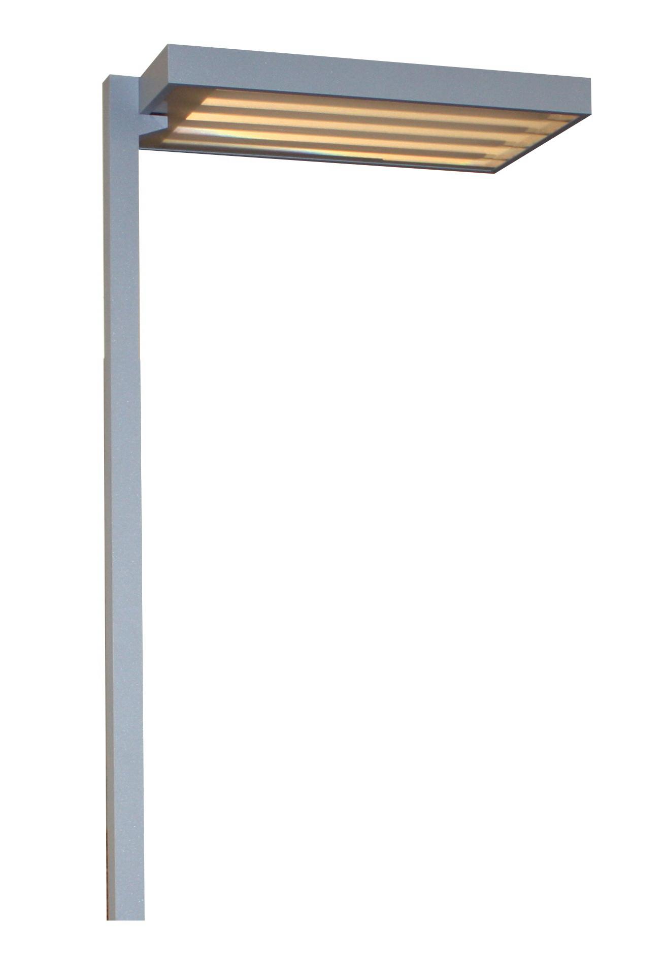 1 Stk Office Stehleuchte SVO TC-L, 4x55W, Sensor und Tast-Dimmer LISVO455SR