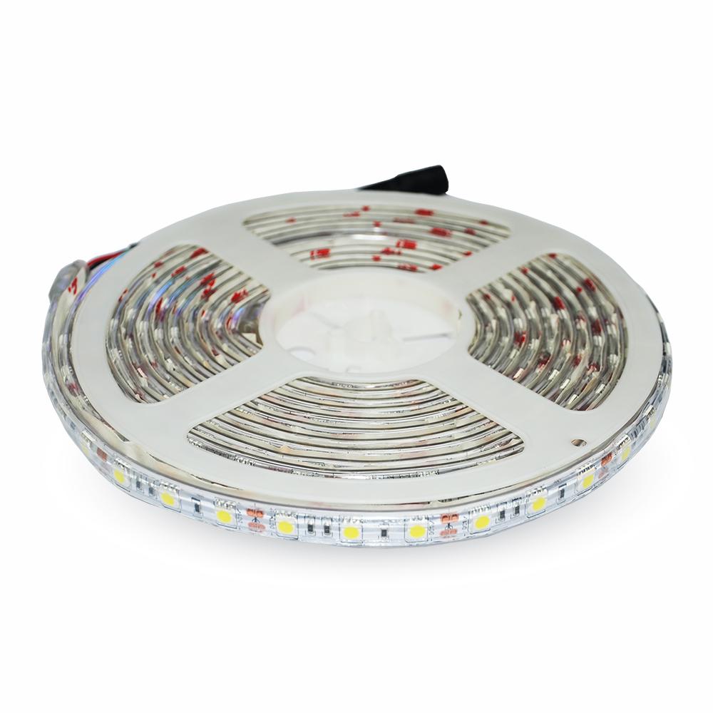 1 m LED STRIP RGB 10,8W/m 1000lm/m 12V 60LEDs IP65 120° LIVT2155--