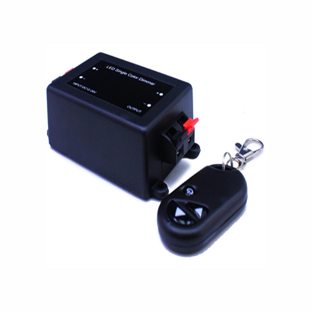 Dimmer 96W 12/24V für LED Strips mit Fernbedienung