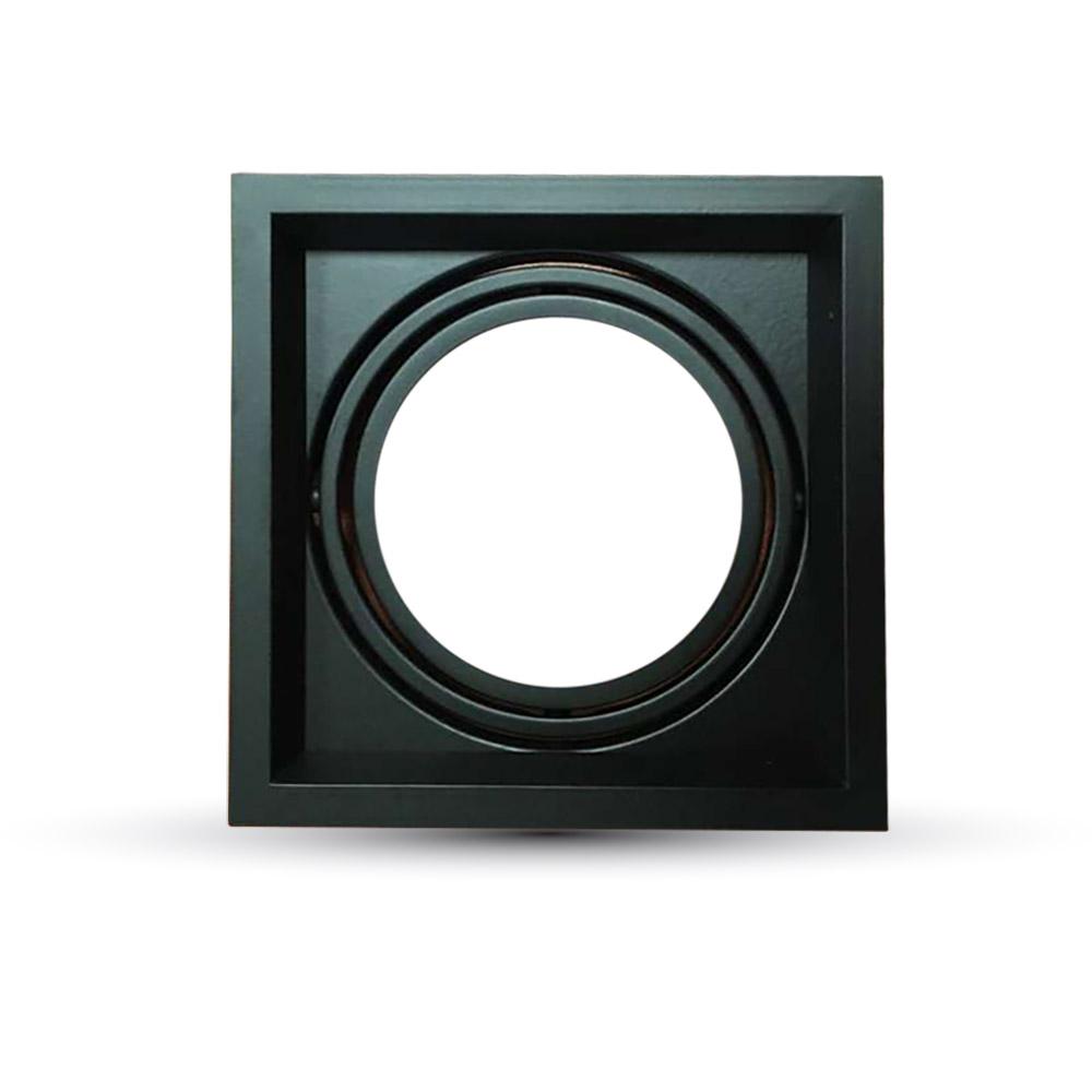 Einbauspot 1xAR111, schwarz