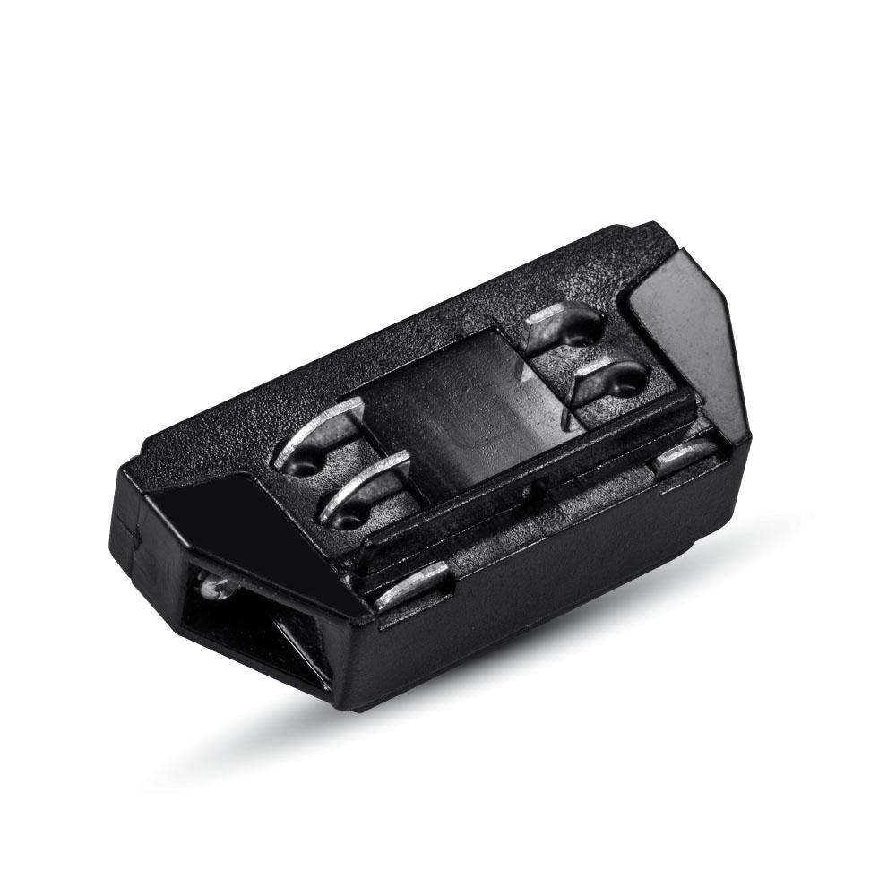 1 Stk Mini Verbinder für Stromschienen Serie V-TAC, schwarz LIVT3656--