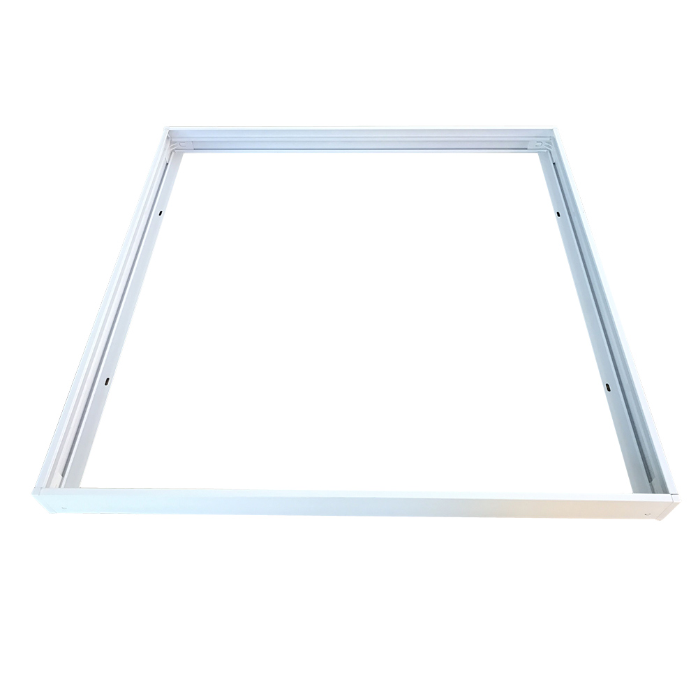 Aufbaurahme 600x600, weiß, Serie V-TAC
