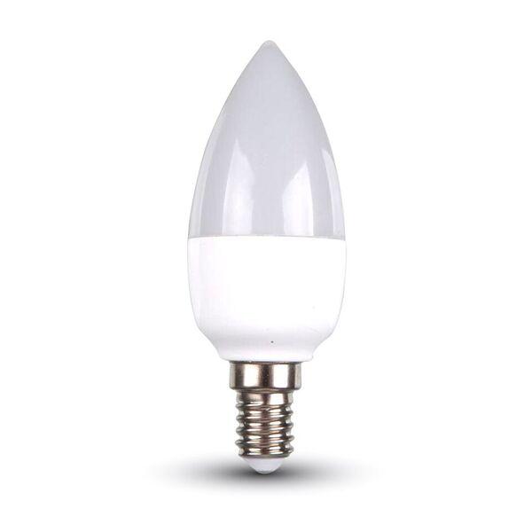 LED Kerze 6W E14 4000K, 470lm, 200°