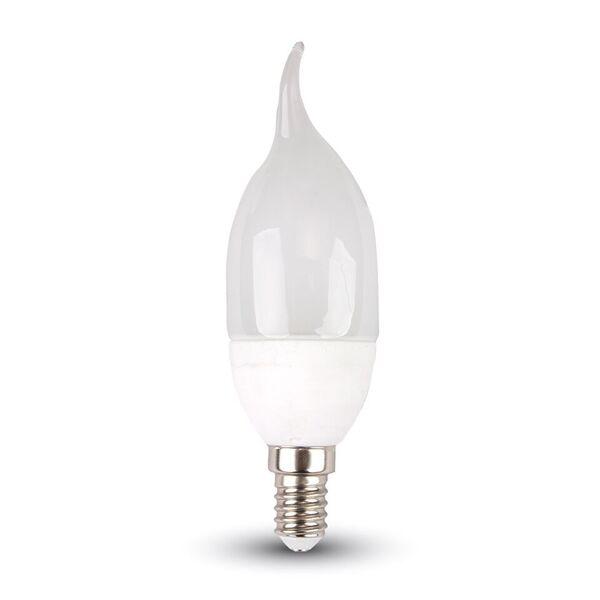 LED Kerze 6W E14 Flamme 4500K, 470lm, 200°
