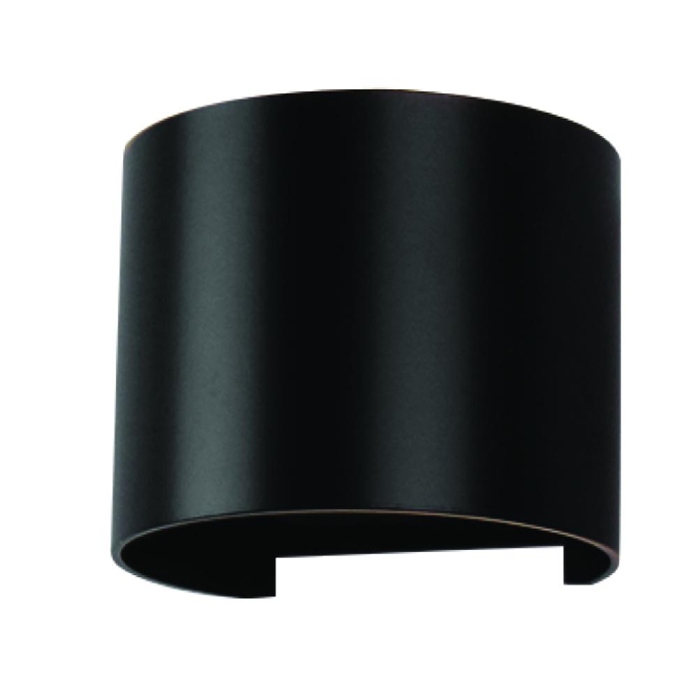 Bridgelux LED 6W 660lm 3000K 220-240V IP65 120° schwarz