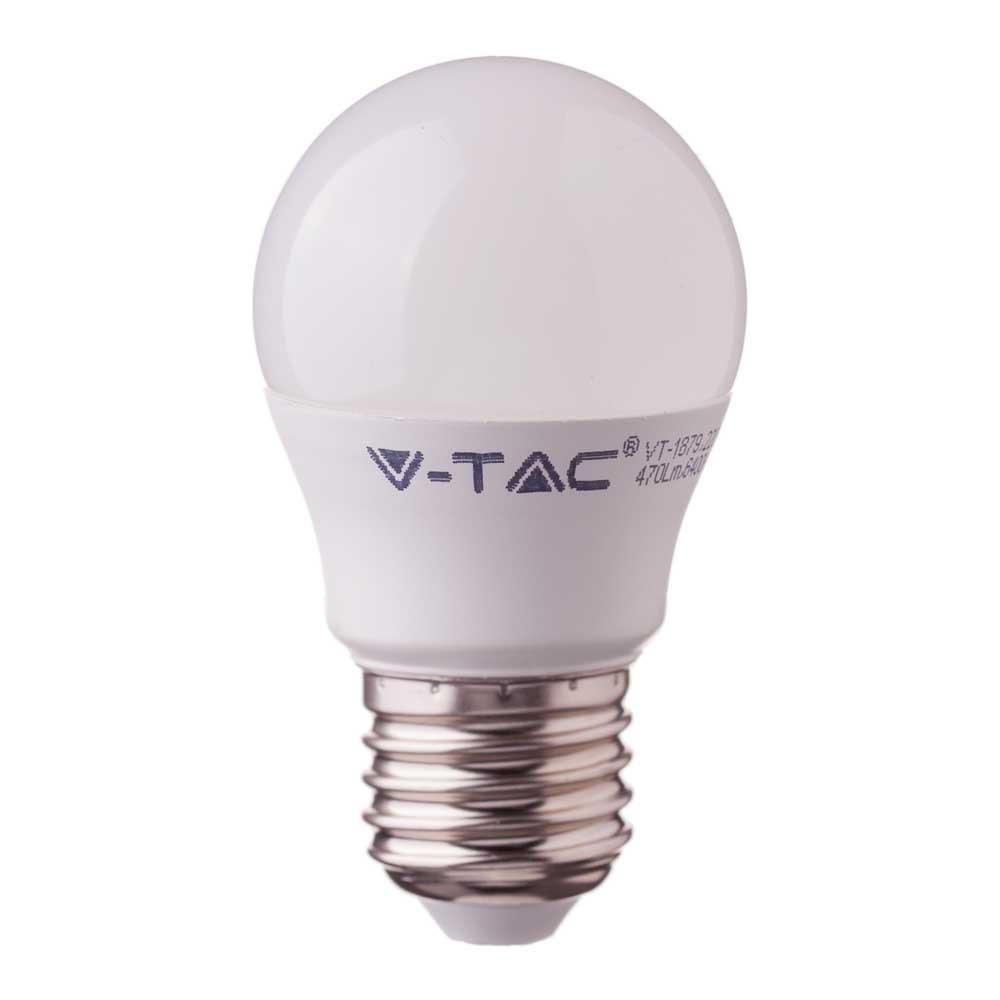 1 Stk LED Globe 5,5W E27 470lm 6400K G45 220-240V IP20 180° LIVTS176--