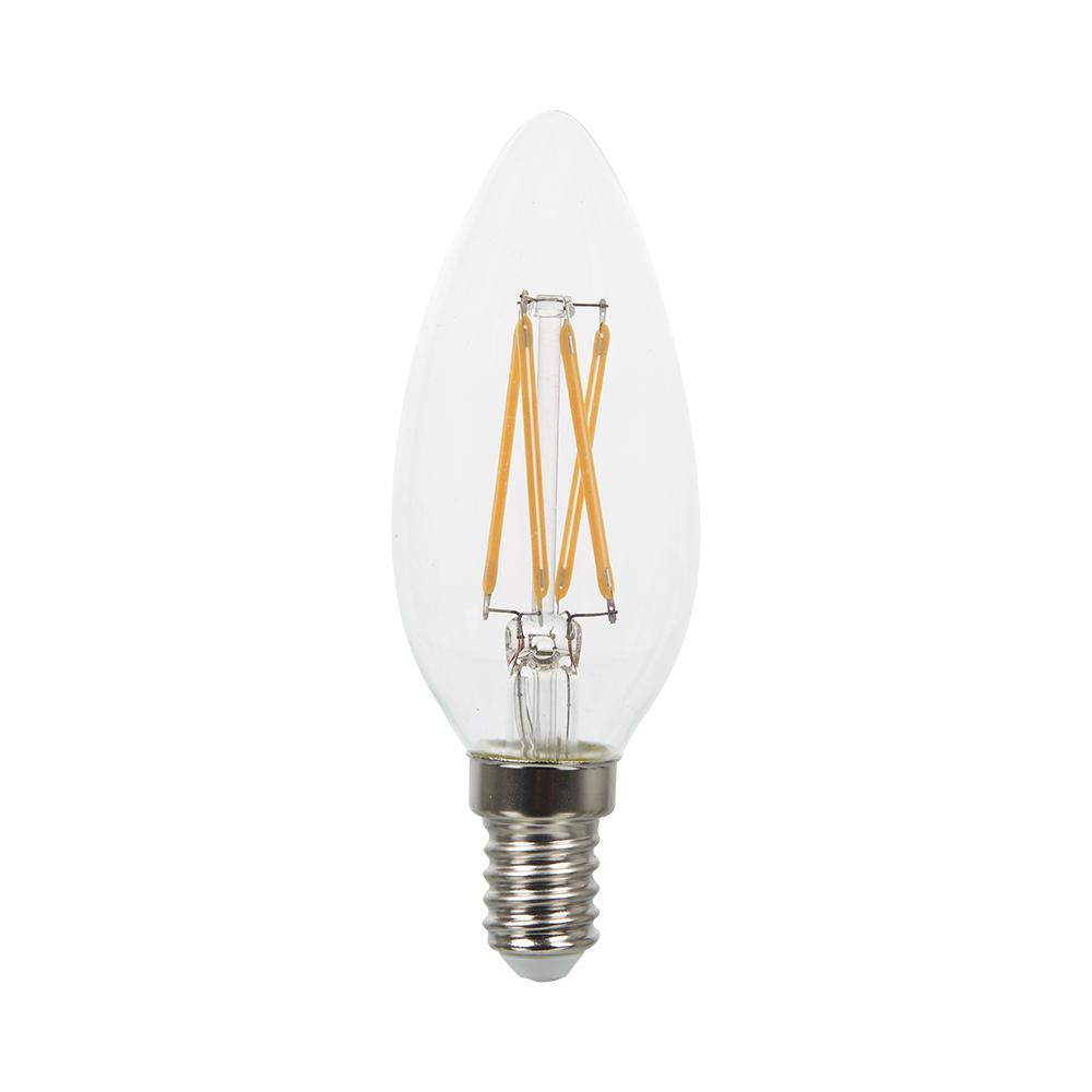 1 Stk LED Kerzform 4W E14 400lm 2700K 220-240V C37 IP20 300° LIVTS272--