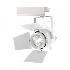 1 Stk LED Track Spot 33W 2640lm 3000K Abstrahlwinkel 24°-60° weiß LIVTS368--
