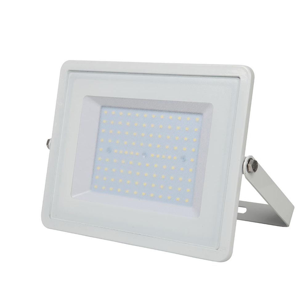 1 Stk LED Fluter 100W 8000lm 6400K 220-240V IP65 100° weiß LIVTS417--