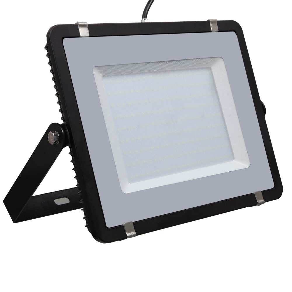 LED Floodlight 200W, 840, 16000lm, IP65, 230V, schwarz