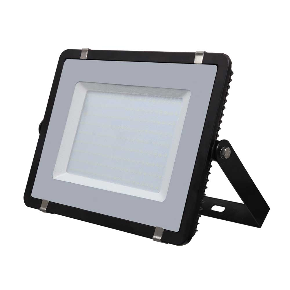 LED Floodlight 300W, 840, 24000lm, IP65, 230V, schwarz