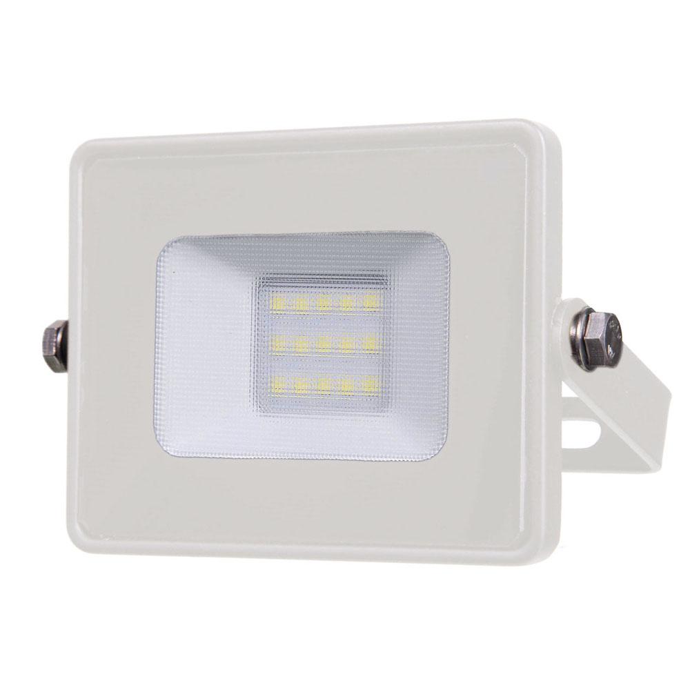 1 Stk LED Fluter 10W 800lm 6400K 220-240V IP65 100° weiß LIVTS429--