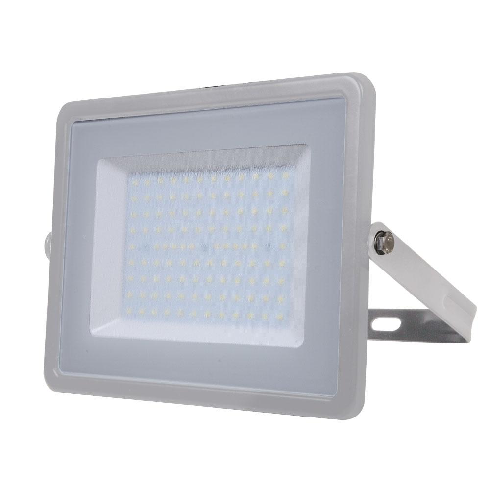 1 Stk LED Fluter 100W 8000lm 3000K 220-240V IP65 100° grau LIVTS472--