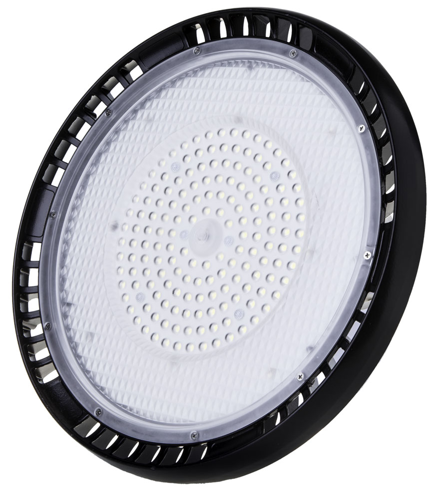 1 Stk UFO LED 150W 18000lm 6400K 220-240V IP65 90° schwarz LIVTS561--