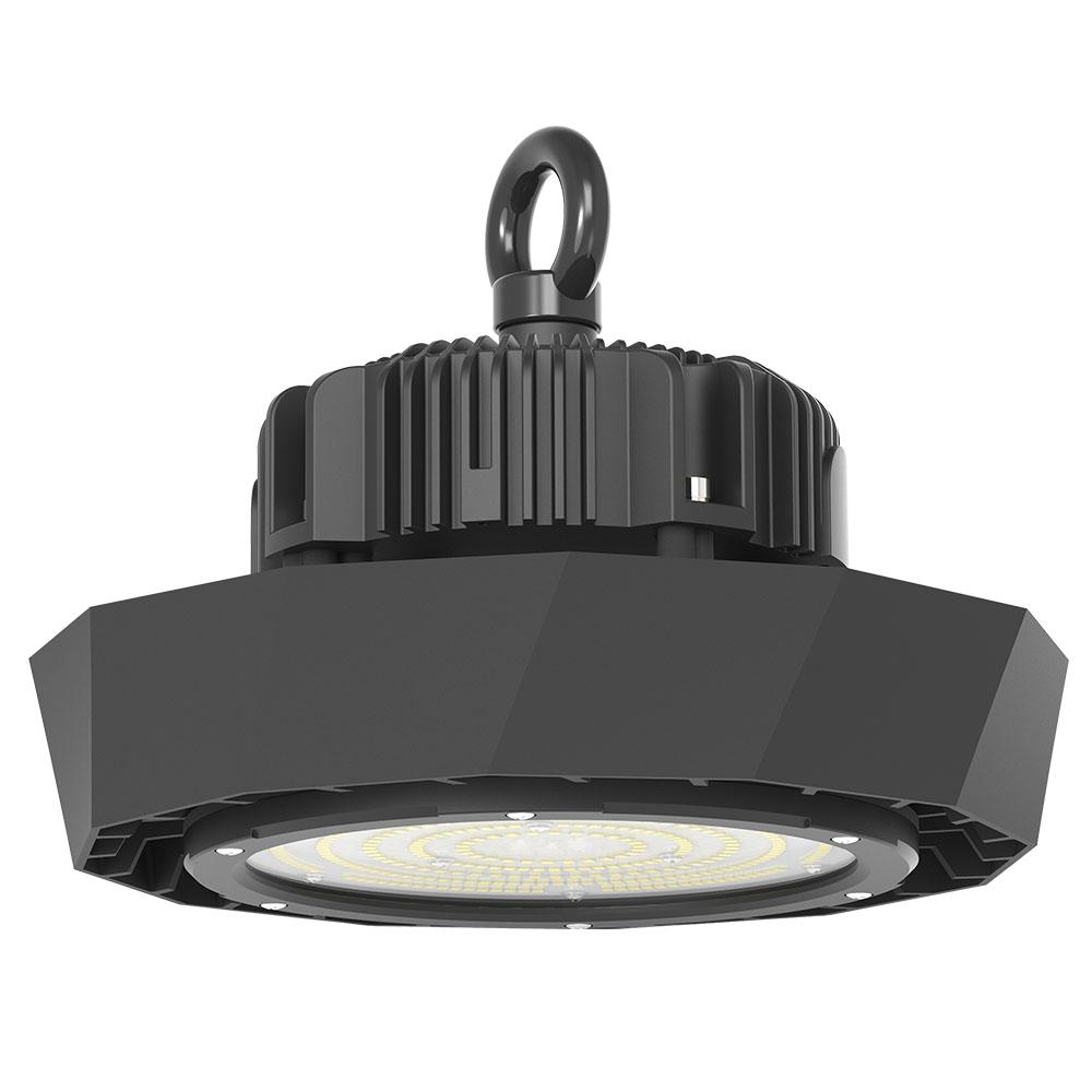 LED Highbay 120W 21000lm 840 1-10V IP65 120° 230V schwarz