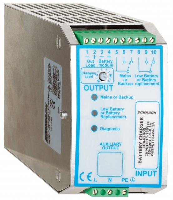 1 Stk Einphasiges Netzgerät getaktet mit USV, 230VAC/24VDC, 10A LP442410--