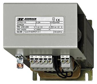1 Stk Einpoliges Netzgerät, ungeregelt, 230-400/24VDC, 10A LP702110T-