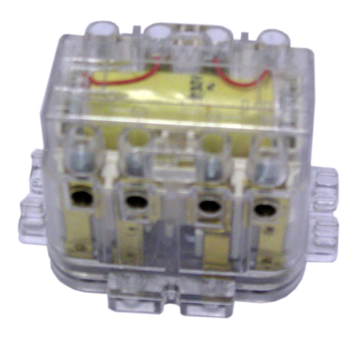 1 Stk Fernschalter für Doseneinbau, 230VAC, 2 Wechsler, 10A  LQ207220--
