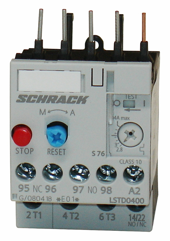 1 Stk Thermisches Überlastrelais 2,80 - 4,00A, Baugröße 00 LSTD0400--