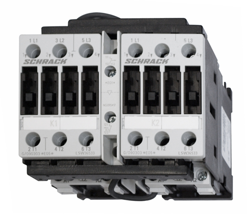 1 Stk Wendeschützkombination, 30kW, 65A AC3, 230VAC, 3 LSW36533--
