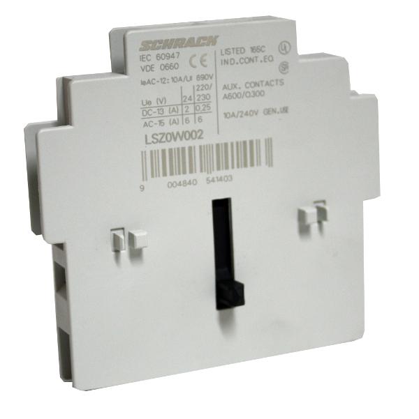 1 Stk Mechanische Verriegelung für Schütze Bgr. 0-3 mit 2 Öffner LSZ0W002--