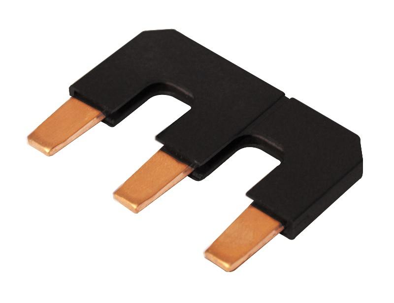 1 Stk Parallelverbinder/Sternpunktbrücke 3-polig für LSD2, Bgr. 2 LSZ2Y005--