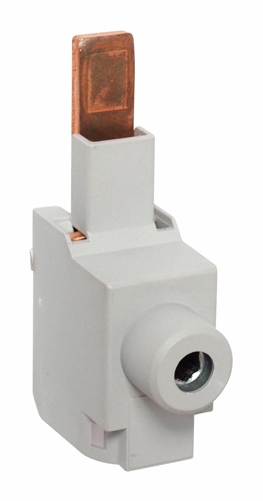 1 Stk Einspeiseklemme 1-polig mit Klemme 95mm² für Baugrösse 3 LSZ3D001--