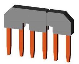 1 Stk Parallelverbinder/Sternpunktbrücke 3-polig für LSD3, Bgr. 3 LSZ3Y004--