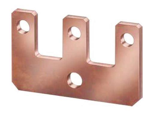 1 Stk Parallelverbinder/Sternpunktbrücke 3-polig für LSD6, Bgr. 6 LSZ6Y003--