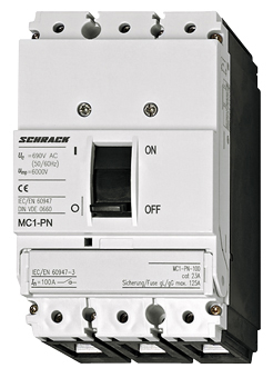 1 Stk Lasttrenner, 3-polig, 160A MC116034--