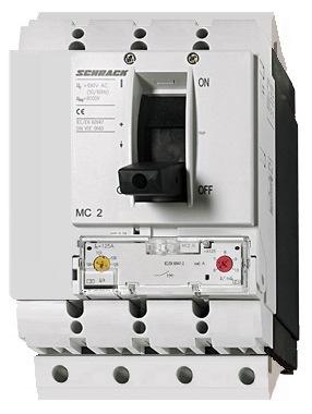 1 Stk Leistungsschalter Type A, 4-polig, 150kA, 100A, steckbar MC210341S-